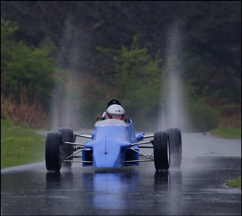 Van Diemen in the wet